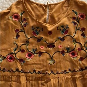ROOLEE Embroidered Top